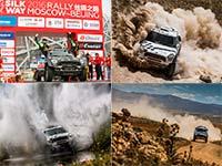 Vier MINI ALL4 Racing Crews beenden die anspruchsvolle Silk Way Rallye in den Top-5.