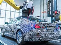 Der virtuelle neue BMW 5er: Hochpr�zise, vollautomatisierte Messtechnik generiert 3D-Datenmodell