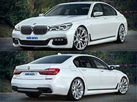 629 PS und 820 Nm: noelle motors macht den BMW 750i zum Leistungssportler