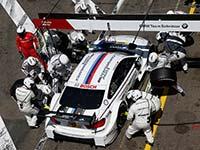 Sommerreise nach Russland: BMW DTM-Teams treten auf dem Moscow Raceway an.