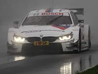 Maxime Martin f�hrt im Regen von Moskau f�r BMW in die Punkter�nge.