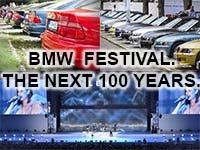 Besucher aus aller Welt feiern das 100-j�hrige Bestehen des Unternehmens beim BMW Festival in M�nche