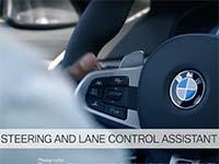 Fahrerassistenz in der neuen BMW 5er Limousine: Ein erster Ausblick.