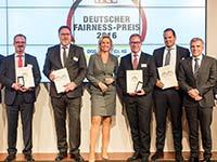 BMW Vertragswerkst�tten mit Deutschem Fairness-Preis 2016 ausgezeichnet.