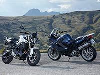 BMW Motorrad überarbeitet F 800 R und F 800 GT.