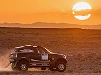 MINI enthüllt neuen Morocco - MINI John Cooper Works Rally - Dakar 2017