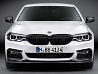 Rennsport-Leidenschaft in der Business-Klasse: Die neue BMW 5er Limousine mit BMW M Performance Zubehör
