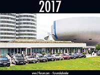 7-forum.com Wandkalender 2017