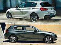 Wallpaper: BMW 1er, 3-Türer und 5-Türer (F20 bzw. F21 LCI)