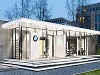 BMW Luxury Excellence Pavillon feiert Premiere während der Berlinale 2017.