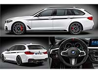 BMW M Performance Parts für den neuen BMW 5er Touring.
