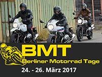 BMW Motorrad präsentiert das 2017er Modellprogramm auf den 21. Berliner Motorrad Tagen