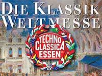 29. TECHNO-CLASSICA ESSEN - die automobile Weltausstellung vom 5. bis 9. April 2017