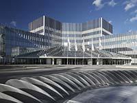 Blick in das BMW Group Forschungs- und Innovationszentrum (FIZ)