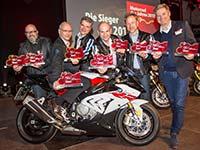 """Erneut ein """"Superwahljahr"""" für BMW Motorrad bei der Leserwahl zum """"Motorrad des Jahres 2017"""""""
