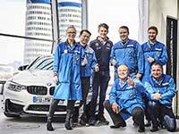 Gruppenauslieferung der streng limitierten BMW M4 DTM Champion Edition mit Marco Wittmann