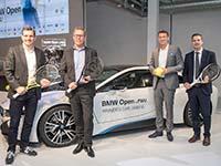 BMW Open by FWU 2017 feiert Jubiläumsjahr mit Weltklasse-Tennis, Kontinuität und Exklusivität.