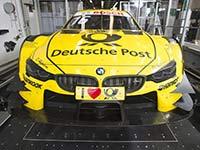 State-of-the-Art-Technologie: 3D-Messtechnik für maximale Genauigkeit beim BMW M4 DTM.