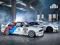 Erinnerung an 1. Sieg auf der Nordschleife: BMW M6 GT3 vom BMW Team Schnitzer erhält historisches Design.
