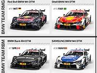 BMW Motorsport geht mit starken Partnern in die neue DTM-Saison 2017.