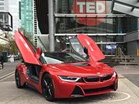 BMW i ebnet Vordenkern den Weg auf die große Bühne zusammen mit TED.