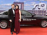 BMW offizieller Partner des 67. Deutschen Filmpreises.
