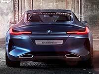 BMW Concept 8 Series. Kompromisslose Dynamik und moderner Luxus