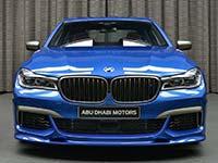 Exklusiver BMW M760Li in Estoril-Blau für Kunden in Abu Dhabi
