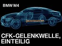 BMW ersetzt CFK-Gelenkwelle in M3/M4 durch eine aus Stahl. Benzin-Partikelfilter angekündigt.