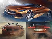 BMW Concept Z4. Freiheit auf vier Rädern.