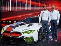 Innovative Technologien für eine neue Legende: der neue BMW M8 GTE.
