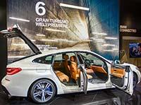 Fotos von der IAA 2017: der neue BMW 6er Gran Turismo feiert seine Weltpremiere