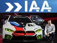 Fotos von der IAA 2017: BMW Concept 8series inkl. Weltpremiere BMW M8 GTE
