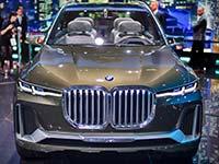 Fotos von der IAA 2017: Weltpremiere für BMW X3 und Concept X7