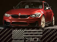 "Weltpremiere: BMW M3 ""30 Years American Edition"""