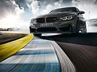 BMW M3 CS: Auf der Rennstrecke optimierte Fahrdynamik.