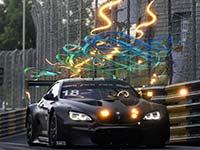 Farfus fährt im 18. BMW Art Car in Macau auf Rang vier
