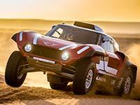 Rallye Dakar 2018: X-raid Team startet mit dem MINI John Cooper Works Rally und dem MINI John Cooper Works Buggy.