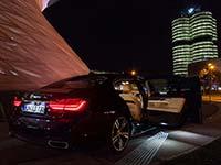 Jungfernfahrt im BMW 730Ld (G12)