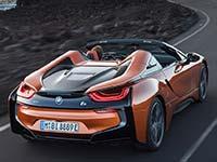 Der neue BMW i8 Roadster, das neue BMW i8 Coupé.
