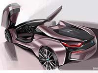 Der neue BMW i8 Roadster, das neue BMW i8 Coupé. Design.