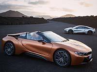 Der neue BMW i8 Roadster, das neue BMW i8 Coupé. Antrieb, Fahrwerk und Karosserie.