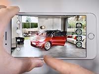 BMW i nutzt als eine der ersten Automobilmarken weltweit das Apple ARKit mit iOS 11 für eine AR App.