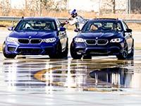 BMW stellt mit dem neuen BMW M5 zwei GUINNESS-WELTREKORDE™ im Driften auf.