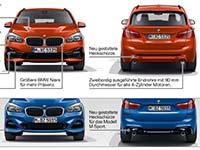 Der neue BMW 2er Active Tourer und BMW 2er Gran Tourer. Facelift 2018. Highlights.