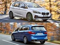 Galerie: Der neue BMW 2er Active Tourer und BMW 2er Gran Tourer. Facelift 2018.
