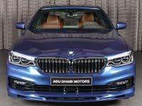 BMW Alpina B5 (G30) im Showroom von BMW Abu Dhabi Motors