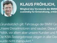 Nachprüfung durch Kraftfahrtbundesamt bestätigt: Auch BMW 320d erfüllt alle rechtlichen Vorgaben vollumfänglich.