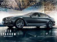 """Red Sparrow"": BMW 7er Limousine in packendem Agententhriller."