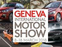 BMW auf dem 88. Internationalen Automobil-Salon Genf 2018.